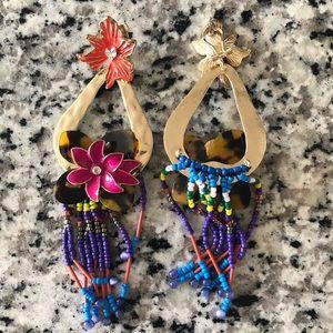 Zara Jewelry - Zara Colorful Floral Earrings